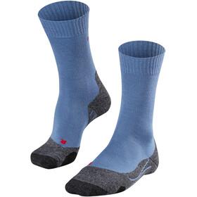 Falke TK2 Sokken Heren blauw/zwart